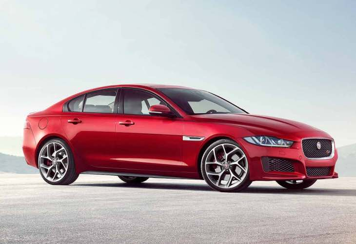 2015 Jaguar XE production begins