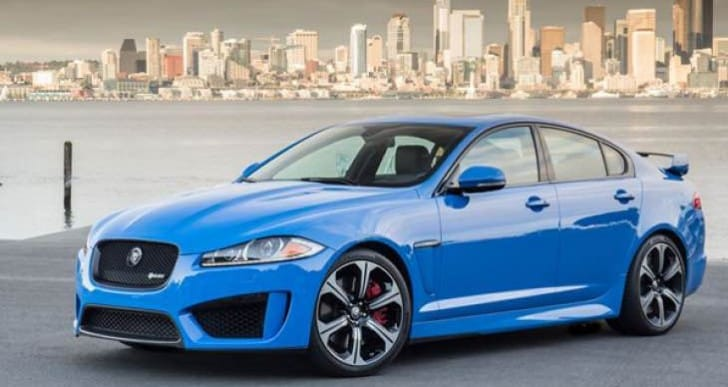 2015 Jaguar XF launch timing and venue significance