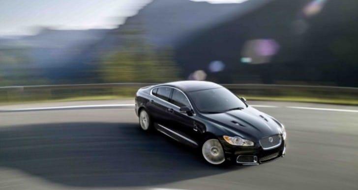 2015 Jaguar XF unveiling at Geneva Motor Show