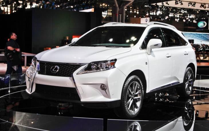 2015 Lexus RX350 recall