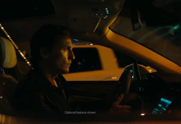 2015 Lincoln MKC endorsed by Matthew McConaughey