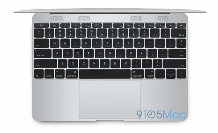 2015 MacBook Air 12-inch design