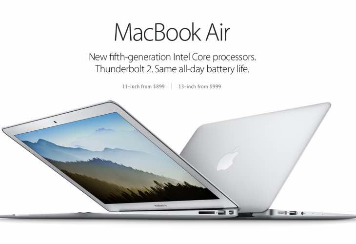 2015 MacBook Air and Pro