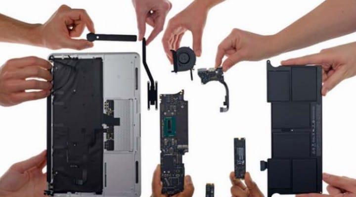2015 MacBook Air not easy to repair