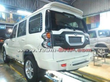2015 Mahindra Scorpio SUV facelift