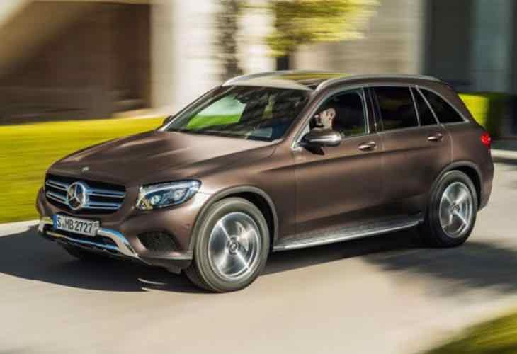 2015 Mercedes-Benz GLC UK deliveries