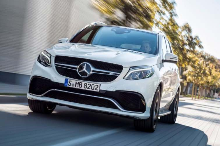2015 Mercedes-Benz GLE engines