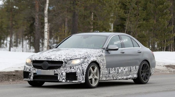 2015 Mercedes C63 AMG review of latest images