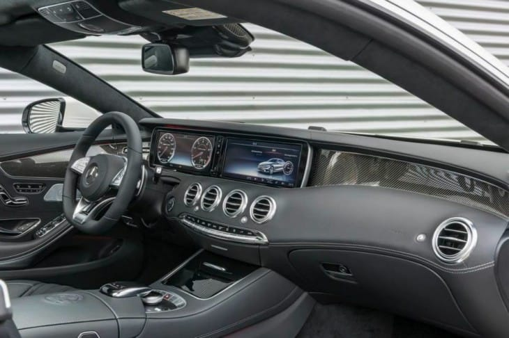 2015 Mercedes S63 AMG 4MATIC Coupe interior