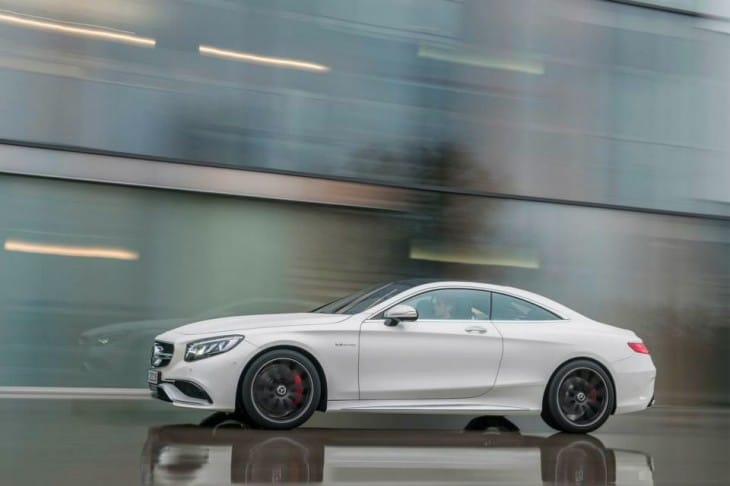 2015 Mercedes S63 AMG 4MATIC Coupe side
