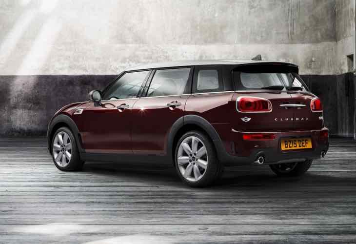 2015 Mini Clubman changes