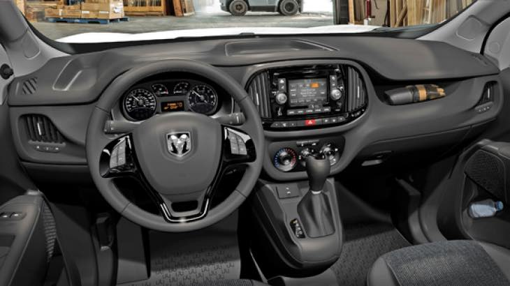 2015 Ram Promaster City interior