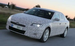 2015 Skoda Superb rivals Ford Mondeo and Vauxhall Insignia