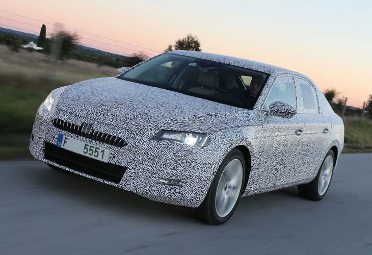 2015 Skoda Superb rivals