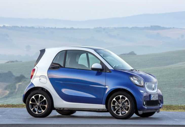2015 Smart ForTwo options