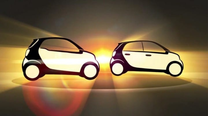 2015 Smart Fortwo and Forfour interior MIA