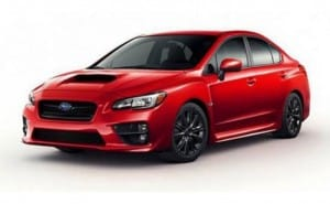 2015 Subaru WRX exterior teased ahead of LA