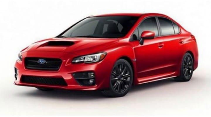 2015 Subaru WRX exterior teased ahead of LA