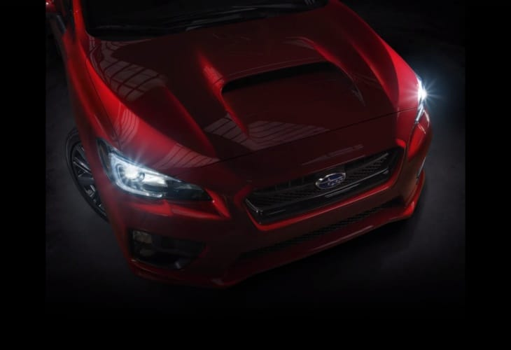 Could this be the 2015 Subaru WRX ?
