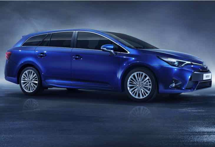 2015 Toyota Avensis options