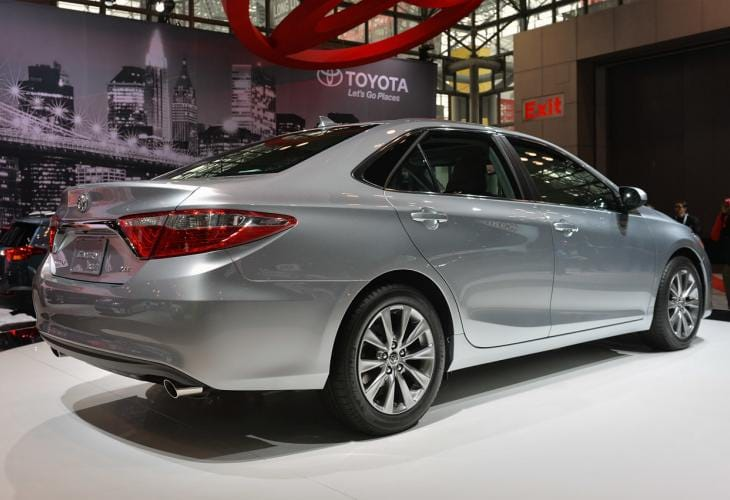2015 Toyota Camry redesign