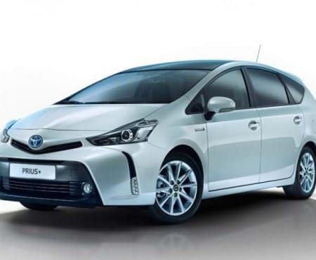 2015 Toyota Prius+ price list for trim levels