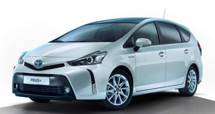 2015 Toyota Prius+ price list for trim levels