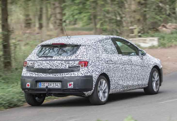 2015 Vauxhall Astra 1.4 Turbo release