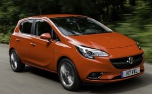 2015 Vauxhall Corsa engine options, no price