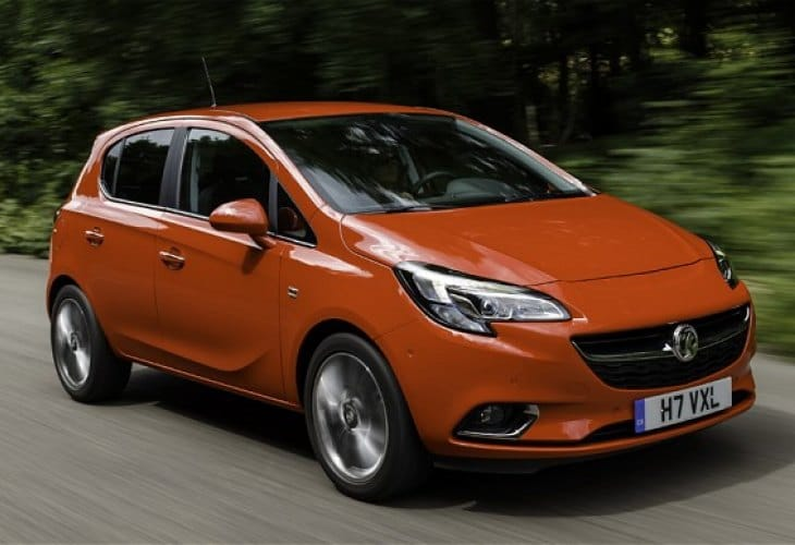 2015 Vauxhall Corsa engines, but no price