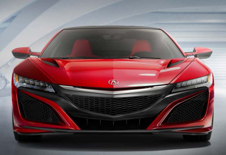 2016 Acura NSX pre-order books expected to be high