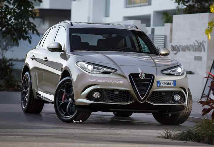 2016 Alfa Romeo Giulia style models includes SUV