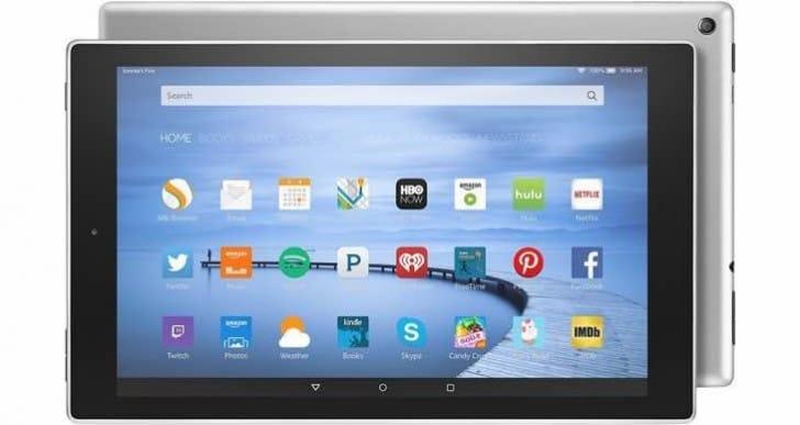 2016 Amazon Fire HD 10 Tablet refresh now premium