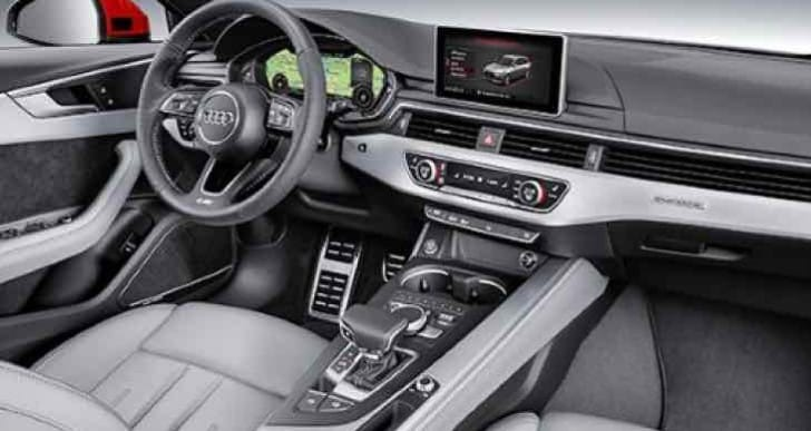 New 2016 Audi A4 interior options for 2015