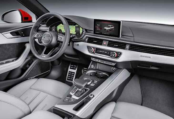 2016 Audi A4 interior options