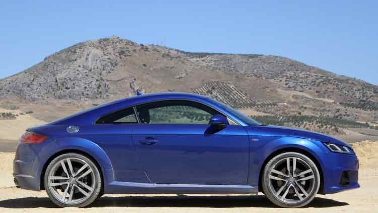 Moderate 2016 Audi TT price hike