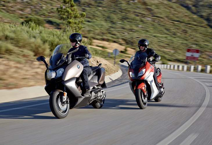 2016 BMW C 650 SPORT AND C 650 GT