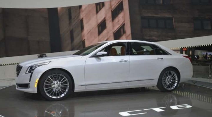 2016 Cadillac CT6 sales expectations