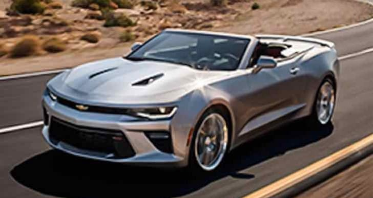 Update: 2016 Chevrolet Camaro convertible price details today