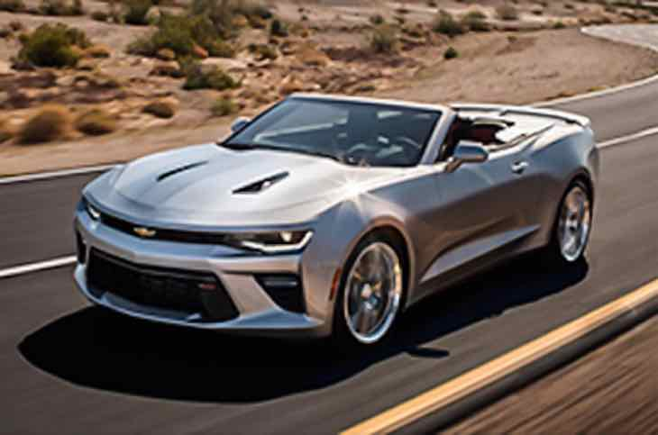 2016 Chevrolet Camaro convertible price