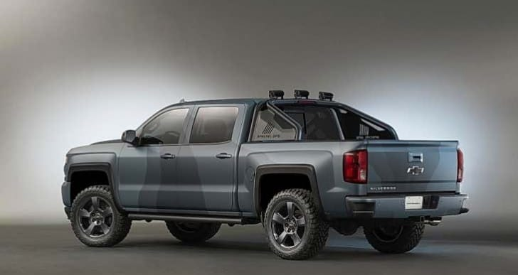 2016 Chevrolet Silverado Special Ops equipment, all feasible