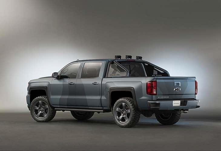 2016 Chevrolet Silverado Special Ops