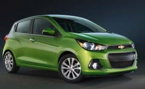 2016 Chevrolet Spark changes and enhanced features