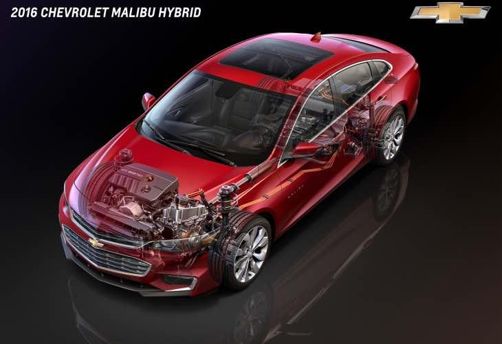 2016 Chevy Malibu Hybrid LT price