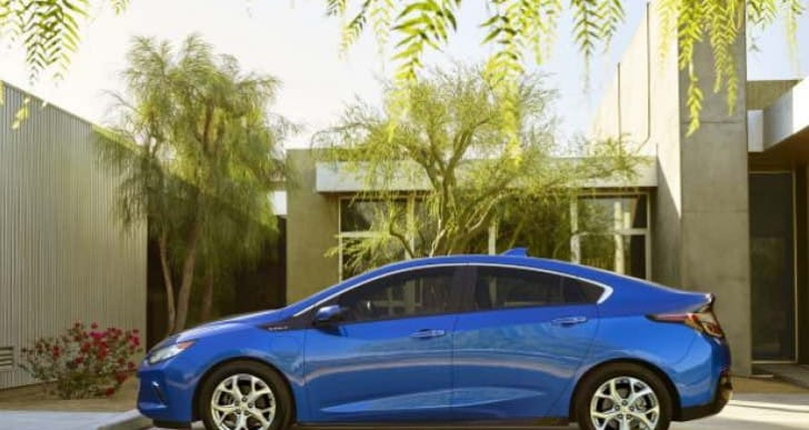 2016 Chevy Volt interior an issue for long journeys
