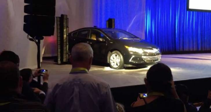 2016 Chevy Volt specs and range MIA at CES
