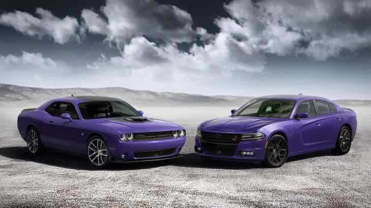 2016 Dodge Charger and Challenger option