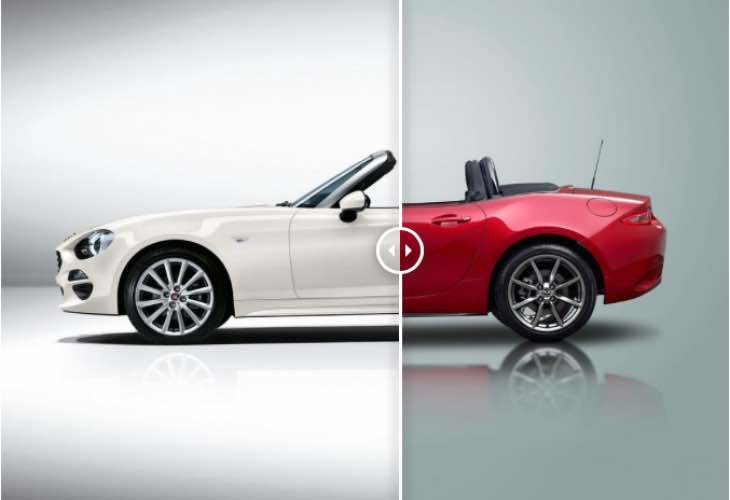 2016 Fiat 124 Spider Vs Mazda MX-5