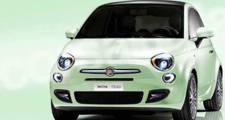 2016 Fiat 500 facelift launch and production dates