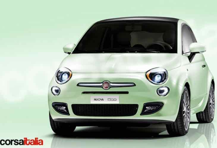 2016 Fiat 500 facelift launch